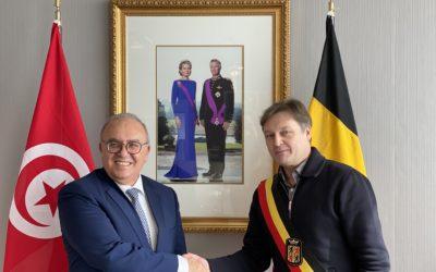 Rencontre avec Son Excellence l'Ambassadeur de Tunisie Mohamed Ridha BEN MOSBAH