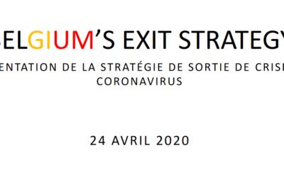 Décisions du Conseil National de Sécurité – 24 avril 2020